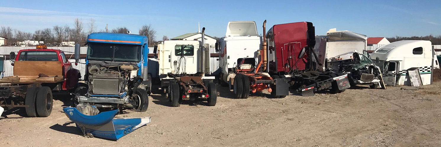 M&M Truck Parts Inc. | Used Semi Truck Parts / Salvaged Parts / Tulsa OK